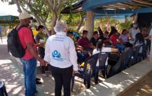 Ocho días cumple la huelga de hambre de jóvenes en La Guajira
