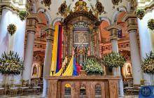 Virgen de Chiquinquirá fue entronizada en los Jardines del Vaticano