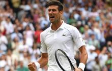 Novak Djokovic se metió en la final de Wimbledon