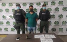 Capturan a 'Alirio', presunto sicario de 'los Costeños'