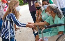 Gobernación brinda ayudas a población con discapacidad