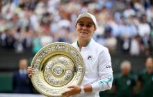 Barty se coronó como campeona de Wimbledon
