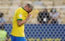 Neymar se despidió entre lágrimas de la Copa América