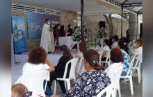Con ceremonia religiosa celebran los 35 años de la visita del papa Juan Pablo II a Barranquilla