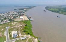 Alcalde Pumarejo se pronuncia sobre crisis en el canal de acceso al puerto de Barranquilla