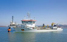 Draga Taccola salió de Jamaica y llegará a Barranquilla para trabajos en canal de acceso