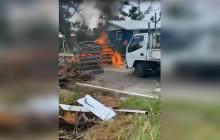"""Siguen los bloqueos en Providencia por lenta """"reconstrucción de la isla"""""""