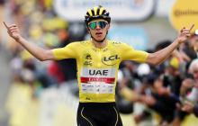 Tadej Pogacar quedó cerca de su segundo Tour de Francia