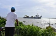 Draga Taccola llega a Barranquilla para empezar trabajos en el canal de acceso