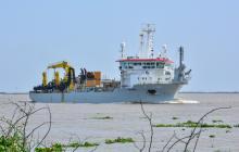 Taccola comenzará a dragar este viernes para restablecer la navegabilidad