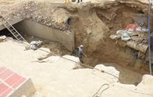 Dueños de casas en Lucero advierten de socavaciones por obra