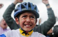Muere arrollado Julián, niño ciclista que lloró por el Tour de Egan Bernal