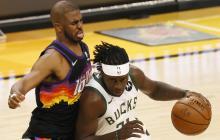 Bucks quedaron a un paso del título de la NBA