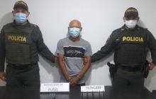 Policía del Atlántico lo capturó con proveedor de fusil M-16
