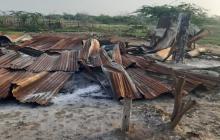 Queman rancho de campesinos para que abandonen sus tierras