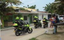 Autoridades intensifican la seguridad en Juan Mina