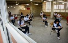Estudiantes de Barranquilla vuelven a las aulas de clases este miércoles