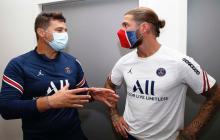 Sergio Ramos no entra en la convocatoria para el primer partido del PSG