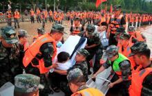 Suben a 33 los muertos por las inundaciones en China