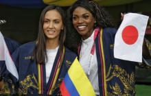 Mujeres fueron las grandes protagonistas en la inauguración de los Juegos Olímpicos de Tokio
