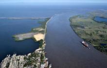 Desbordamiento del río Magdalena amenaza con inundar Puerto Wilches