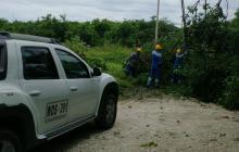Vendaval afectó servicio de energía en 6 municipios del Magdalena