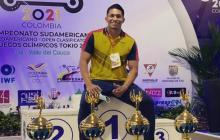 Un soledeño aportó su granito de arena en la medalla de Luis Mosquera