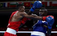 Yuberjen Martínez comenzó con triunfo en los Juegos Olímpicos de Tokio