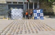 Decomisan 250 kilos de cocaína en el Puerto de Cartagena