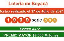 Lotería de Boyacá tiene ganador, pero no aparece: premio es $9.000 millones