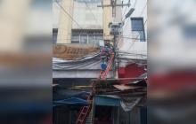 Detectan y desconectan 337 chazas ilegales en el Centro de Barranquilla