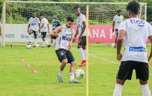José Carlos Muñoz recibió el alta médica en Junior