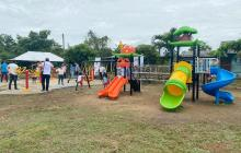 Entregan las primeras obras Pdet Montes de María en Sucre