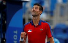 Novak Djokovic clasificó a las semifinales de tenis en los Juegos Olímpicos de Tokio