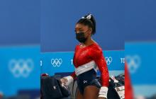 """Juegos Olímpicos Tokio 2020: """"No puedo subir ahí"""": las palabras de Biles minutos antes de abandonar la competencia"""