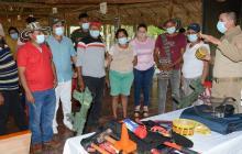 Capacitan a comunidades étnicas sobre el riesgo de minas antipersonas