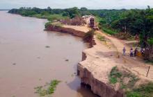 """Piden a entes del Estado """"ponerse de acuerdo"""" sobre erosión en Salamina"""