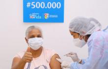En el Atlántico ya se aplicaron 500 mil vacunas contra el Covid-19