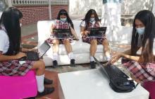 """""""Nuestros colegios rurales contarán con internet gratuito por 11 años"""": Elsa Noguera"""
