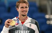 Alexander Zverev se convierte en el primer campeón olímpico de tenis alemán