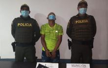 Policía del Atlántico lo capturó con un arma de fuego artesanal