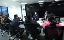 Defensoría se reúne con familiares de colombianos presos en Haití