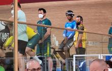 Kevin Quintero se estrenó en la pista de los Juegos Olímpicos