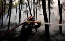 Grecia se quema mientras la ola de calor extrema azota al país