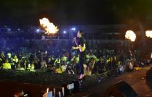 Los conciertos masivos se reactivan a ritmo de vallenato