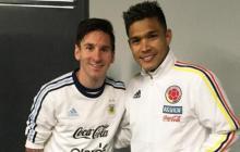 Teófilo Gutiérrez dijo que habló con Messi porque ambos se quedaron sin trabajo