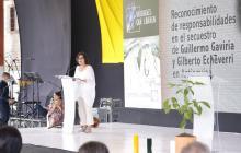 """""""Guillermo Gaviria convirtió la paz en un programa de gobierno"""": Comisionada de la Verdad"""