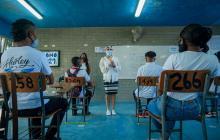 Avanza el retorno a la presencialidad de colegios en Cartagena