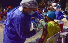 Más de 1.100 personas se beneficiaron con la vacunatón nocturna en Sincelejo