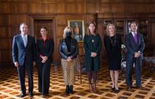Marta Lucía Ramírez se reunió con exministros de Relaciones Exteriores